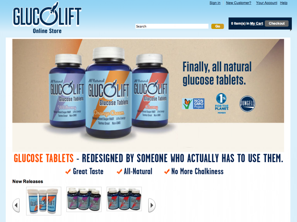 Image of Glucolift online store