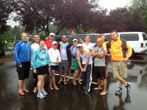 The 2012 Insulindependence Northwest Passage Ragner Team